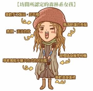 森系女pic